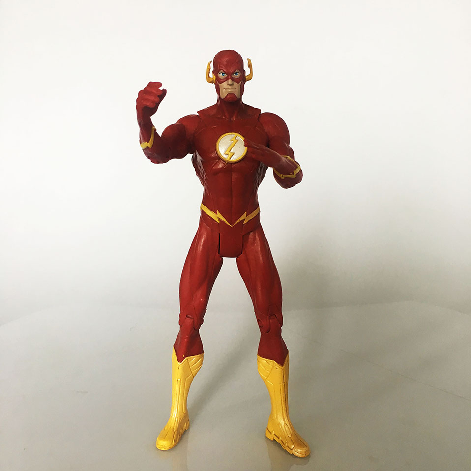 justice league Super Hero the Flash Man Green Lantern Action Figures Toys Collectible PVC Model Toy Christmas Gift For Kids N006 (1)