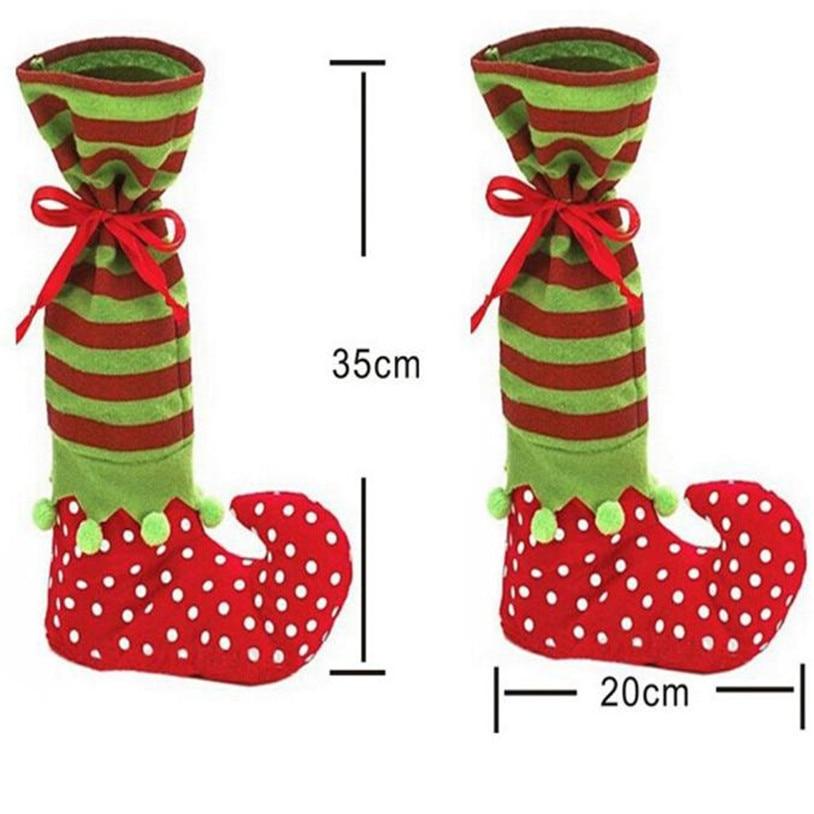 ᗖNavidad Santa regalo Calcetines lindo Navidad Stocking niños ...