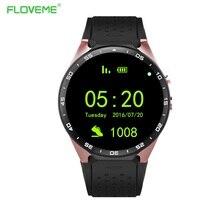 FLOVEME X13 Für Andriod IOS Bluetooth Smart Uhr MTK6580 Quad Core 4 GB + 512 MB Passometer Herz Rart MonitorAnti-verloren Smartwatch