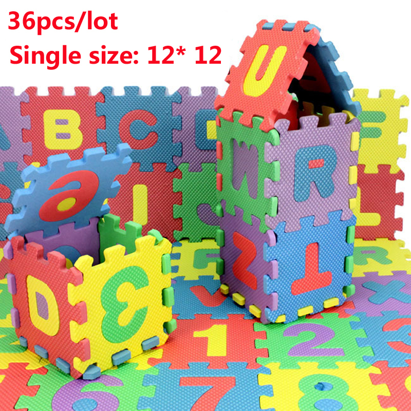 36pcs lot environmentally baby carpet puzzle tapete de - Alfombra puzzle ninos ...