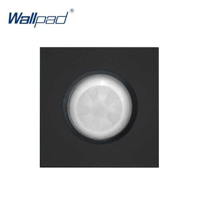 Wallpad Luxury Motion Sensor Switch Function Key For Wall White And Black Plastic Module Only