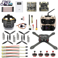 DIY RC Drone Pro SP Racing F3 300mm 2.4G 10CH Transmitter Carbon Fiber Frame Brushless 700TVL Camera with FPV Display Quadcopter