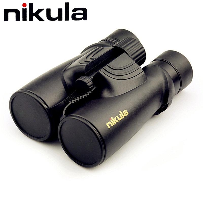 Nikula бинокль 10x42 профессиональные бинокулярный азота Водонепроницаемый мощный телескоп HD LLL Ночное видение для Охота компактный