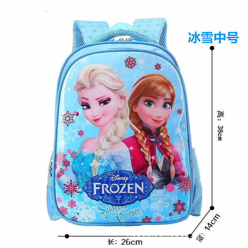 Disney princess Children cartoon primary bag for school reduction bag girl boy 1-3 grade Frozen Elsa bag for school kid backpack