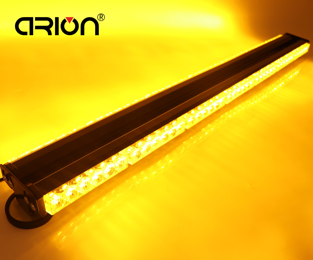 1050MM 41 Both Side 6 14 84 LED Car Truck Roof Flashing Beacons Emergency Lighting Strobe