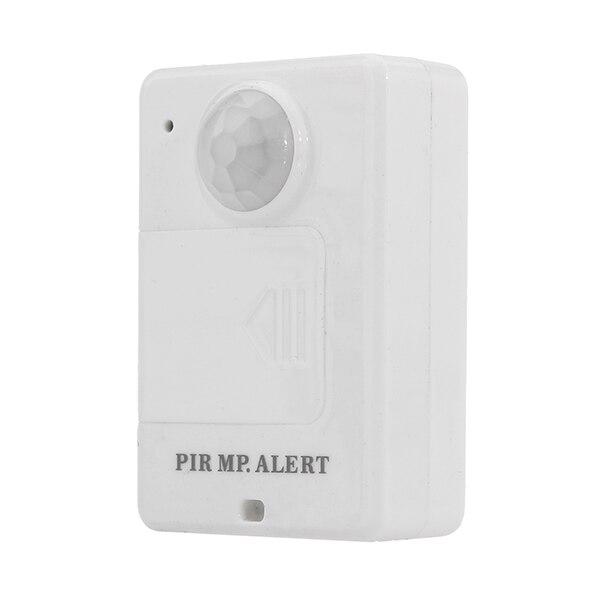 NEW Mini Wireless GSM PIR MP Alert Anti-theft Alarm Infrared Sensor Motion Detector mini pir alert sensor wireless infrared gsm alarm monitor motion detector detection home anti theft system with eu plug adapter