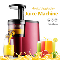 150W Home Fruit Vegetable Juice Maker 80rmp Low Speed Electric Juicer Extractor Kitchen Drinking Slow Juicer Citrus Machine