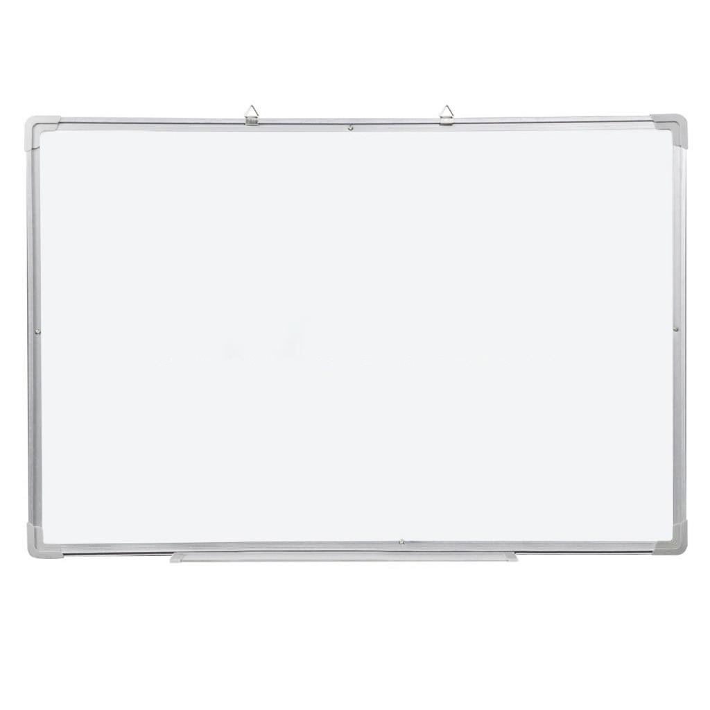 Magnetic Dry Wipe Whiteboard & Eraser Memo Teaching Board Kitchen Office (500 x 350mm) zhidian 32 24soft magnetic whiteboard dry erase board white wall back without glue don t damage metope t 0 3mm