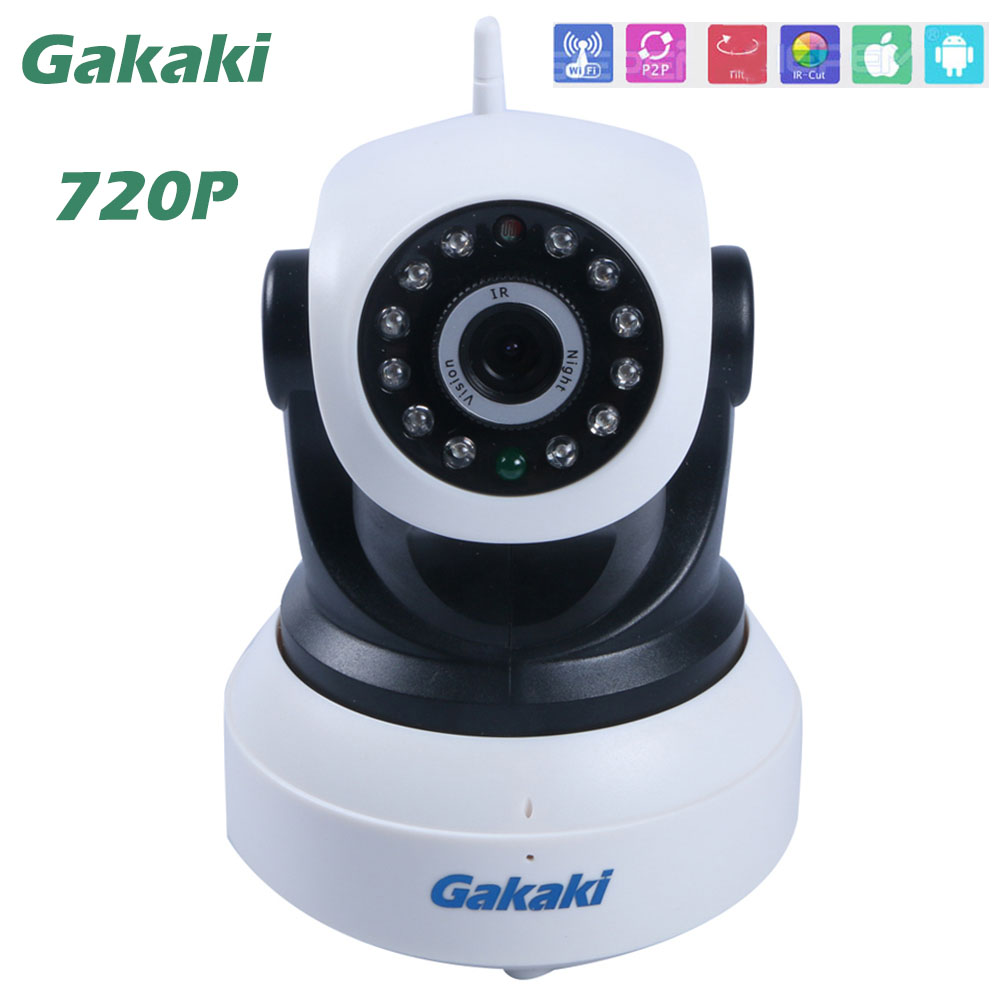 HD 720P IP Camera Wifi cam Mini CCTV P2P network Camera Micro TF Card Camerahome security camera system wireless