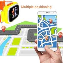 kids GPS Smart Baby Watch Q90
