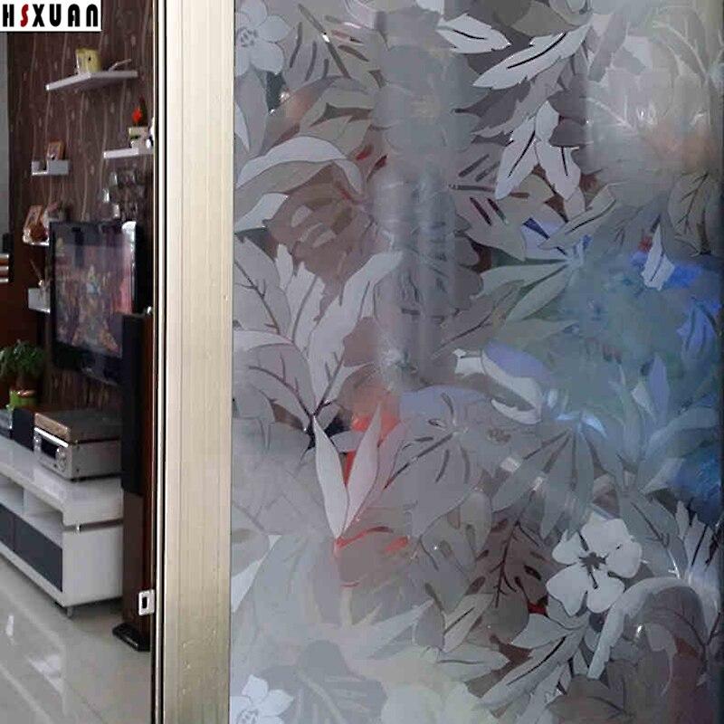 Pvc 3d Matte Print Window Film Fenetre Maison 92x100cm