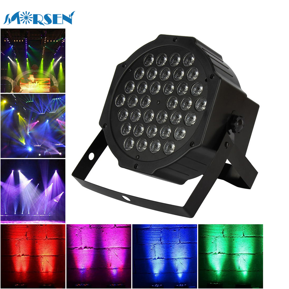 1pcs New Stage Light Effect LED Crystal Magic Ball Par 36W RGB LED DJ Bar Effect UP Lighting Show DMX Strobe for Party KTV*15#20 mini rgb led party disco club dj light crystal magic ball effect stage lighting