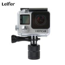 Leifer Action Camera Light Panning Rotating Time Lapse Stabilizer 360 Degrees Tripod Adapter for Gopro 4 3 Xiaomi Yi SJCAM
