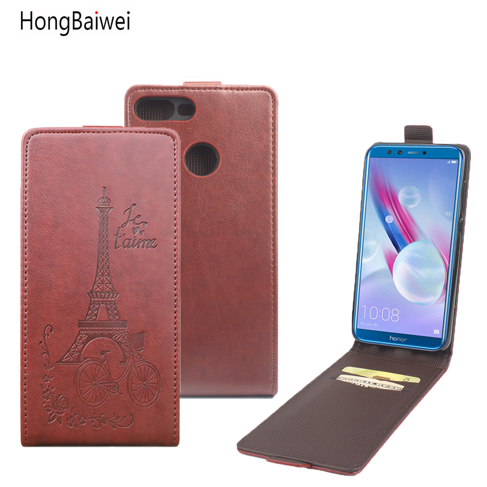 HongBaiwei for Huawei <font><b>Honor</b></font> <font><b>9</b></font> <font><b>Lite</b></font> <font><b>Flip</b></font> <font><b>Case</b></font> Fashion Embossed Leather Cover <font><b>Case</b></font> for Huawei <font><b>Honor</b></font> <font><b>9</b></font> <font><b>Lite</b></font> Vertical Back Cover image