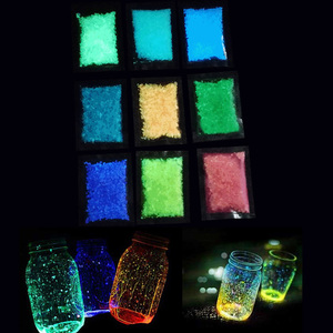 Luminous Sand Stones Garden Park Road Pebbles Glow In Dark Ornaments For Party Aquariums Fish Tank Decoration Stone Ornaments(China)