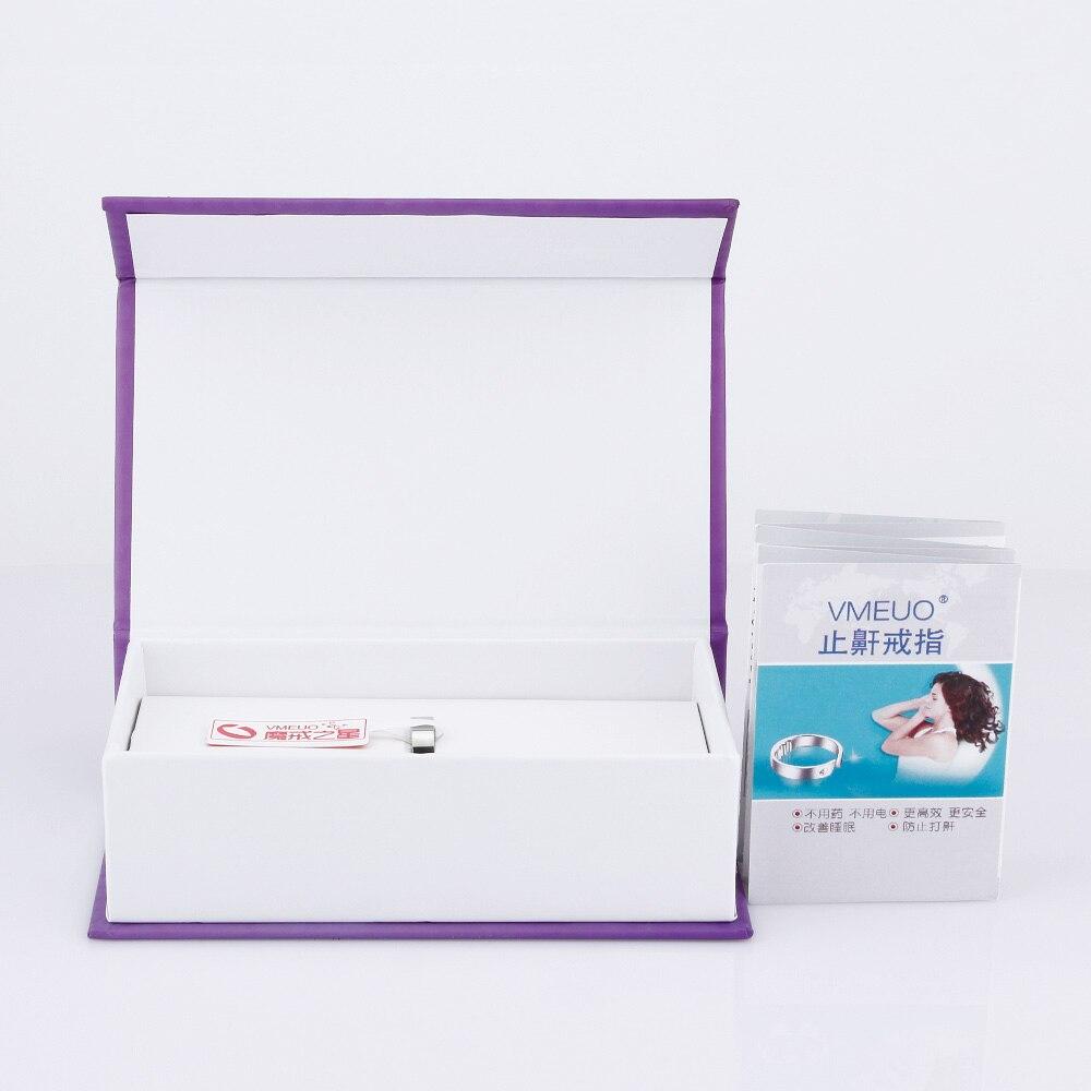 Natürliche Behandlung 4 Größen Akupressur Anti Snore Fingerring  Reflexzonenmassage Gegen Schnarchen Lösung Gerät Apnea Schlaf Beihilfen  Pflege
