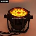 10 шт. светодиодных световых индикаторов  наружный светодиодный par 18x15 Вт par прожектор Led rgbwa ip65 Водонепроницаемый led par can