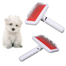 Shedding Grooming Hair Brush Comb For Dog Cat Large Pin Hair Removal Brush Comb Healthy Hairbrush Pet Hair Supplies Tool Brush