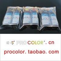 6 kolor 850BK PGI 850XL atrament pigmentowy CLI 851 CLI851XL BK C M Y GY atrament barwnikowy do napełniania Zestaw do aparatów Canon PIXMA MG7580 IP8780 drukarka atramentowa w Zestawy do napełniania tuszu od Komputer i biuro na