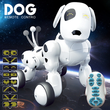 Robot Dog Electronic Pet Intelligent Dog Robot Toy Smart Wireless 2.4G Talking Dance Sing Remote Control Kids Birthday Toys Gift 2 4g wireless remote control intelligent robot dog children s smart toys talking dog robot electronic pet toy birthday gift