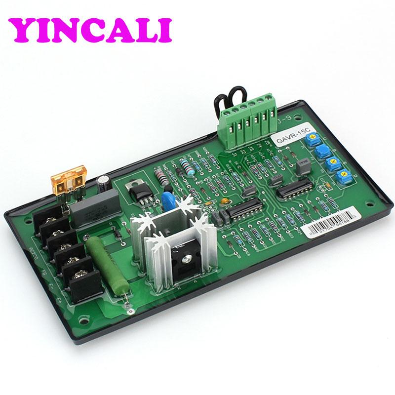 Good Quality 5 PCS/LOT Automatic Voltage Regulator GAVR-15C Universal Generator AVR for Alternator цена