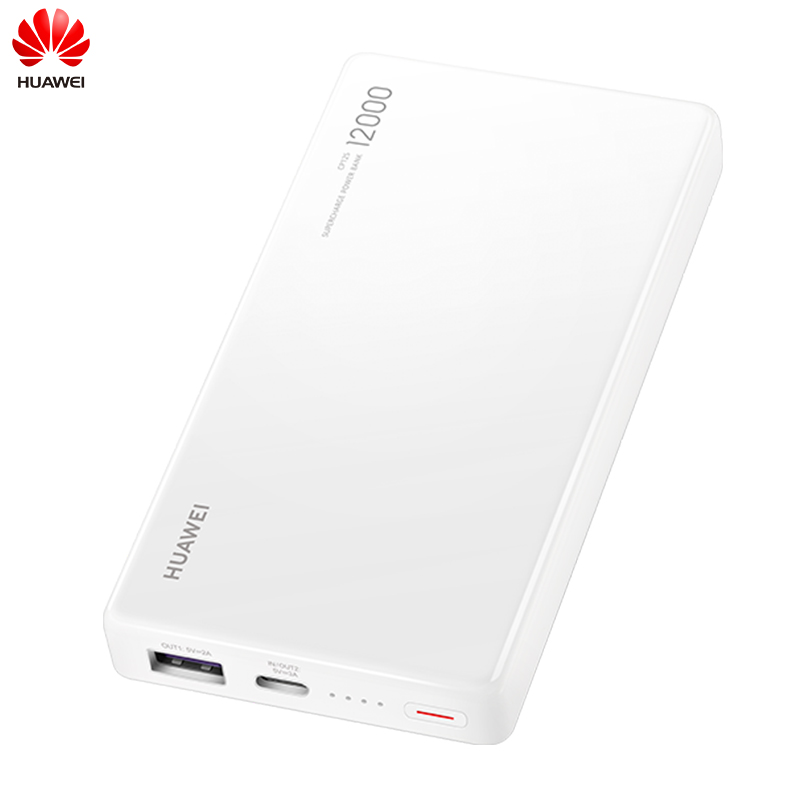 Batterie externe d'origine Huawei 12000 mAh surcharge Max 40 W 10 V 4A type-c Charge rapide bidirectionnelle pour Huawei Mate 20 Pro