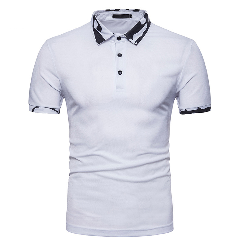 Mens   Polo   Shirt 2018 Brand New Camouflage Collar   Polo   Homme Casual Slim Fit Classic Men   Polo   Shirts Short Sleeve   Polos   Hombre