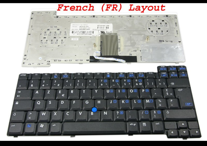 NORWEGIAN Keyboard HP Inc 371044-091