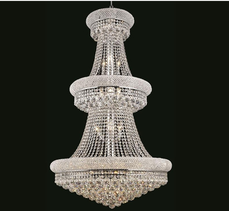 French empire gold crystal chandelier luxuryshit you can have this perfect french empire chandelier in two colours choose between gold and silver aloadofball Image collections