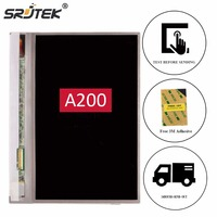 Srjtek 7 LCD Display For Acer Iconia Tab A200 LCD Screen Matrix Panel Tablet PC Replacement