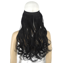 Hair-Extensions Halo Invisible-Wire Synthetic-Fiber Elasticity Heat-Resistant 8008 Body-Wave