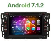 4G WIFI Android 7.1.2 2GB RAM DAB+ SWC Car DVD Multimedia Player Radio For GMC Yukon Savana Sierra Tahoe Acadia Denali 2007-2012