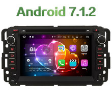 4G WIFI Android 7.1.2 2GB RAM DAB+ SWC Car DVD Multimedia Player Radio For GMC Yukon Savana Sierra Tahoe Acadia Denali 2007-2012