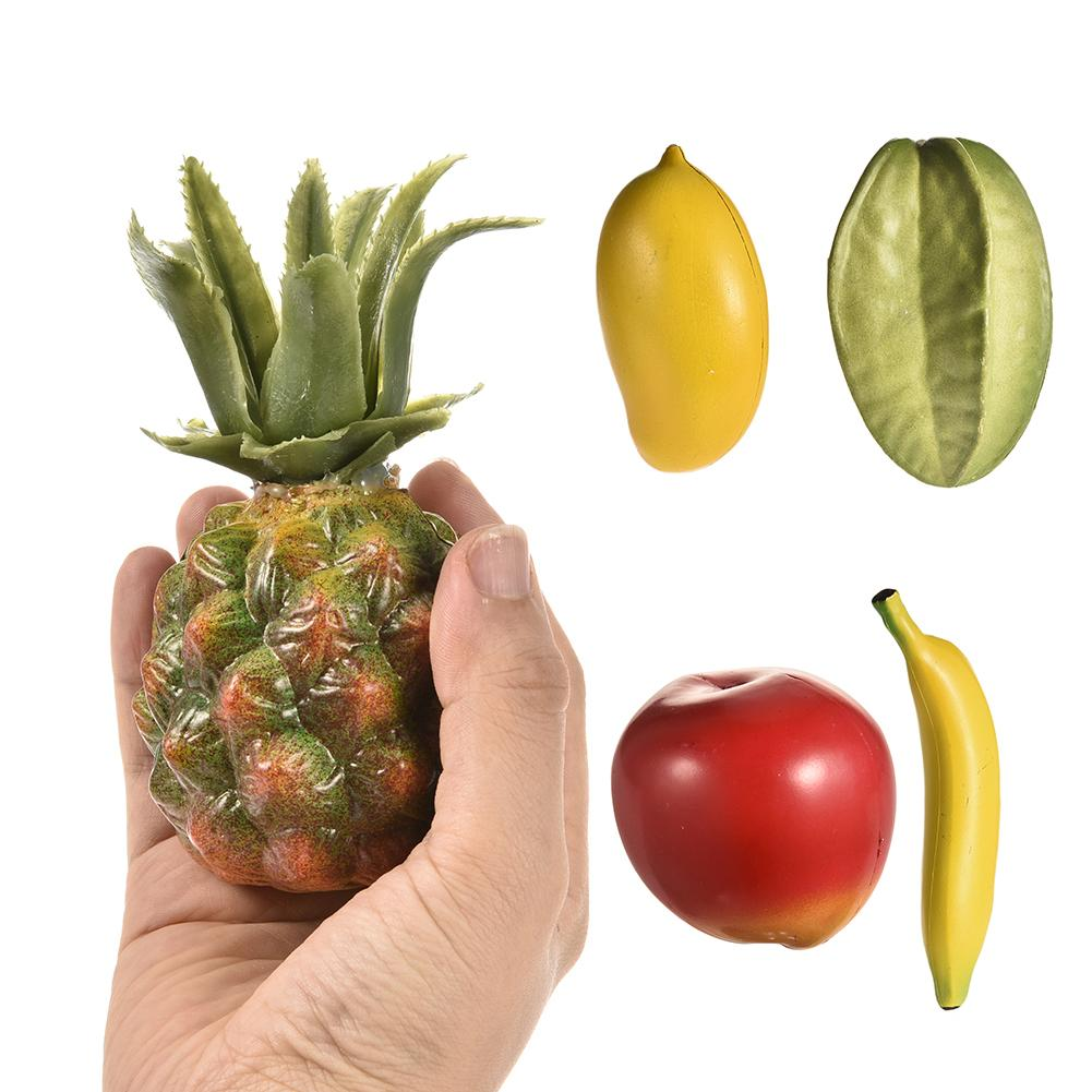 Children Fruit Shape Sand Hammer Percussion Musical Toy Instruments Mango Carambola Banana Apple Pineapple Orff Instruments Special Summer Sale Musical Instruments