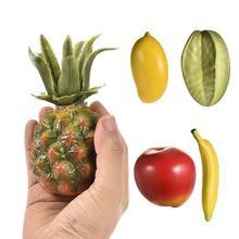 Children Fruit Shape Sand Hammer Percussion Musical Toy Instruments Mango Carambola Banana Apple Pineapple Orff