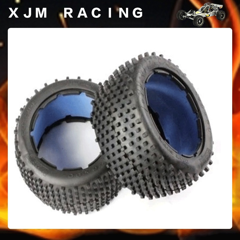 все цены на 1/5 rc car,Cross-Country rear tire (x 2pcs/set) fit hpi rovan km baja 5b онлайн