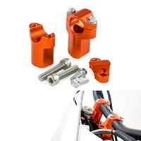 Motorcycle Handlebar Riser Raiser 52mm Height Mounts Clamp For KTM 85 125 250 300 400 450