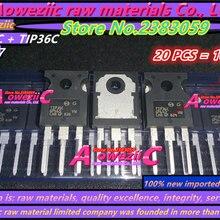 Aoweziic+ новые импортные оригинальные TIP35C TIP36C TIP35 TIP36 TO-247 Высокая мощность трубки к транзистору усилитель трубки