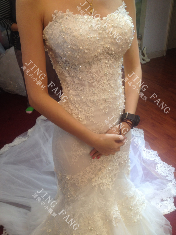 Casamento Romantic Sexy Luxury New Sweetheart Vestido De Novia Lace Pearls Mermaid 2018 Bridal Gown Mother Of The Bride Dresses