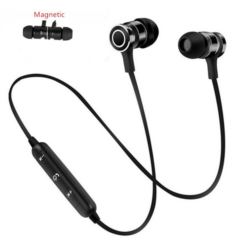 Bluetooth Kopfhörer Headset Drahtlose Kopfhörer SweatProof Magnetische Sport Stereo Ohrhörer fone de ouvido für xiaomi Handy