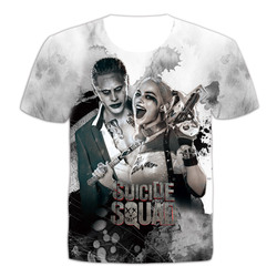 Men suicide squad t shirt joker haley quinn 3d t shirt man women summer short sleeve.jpg 250x250