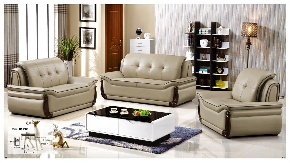por leather furniture set cheap lots