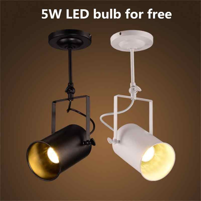 Lights Wrought Iron Ceiling Lamps