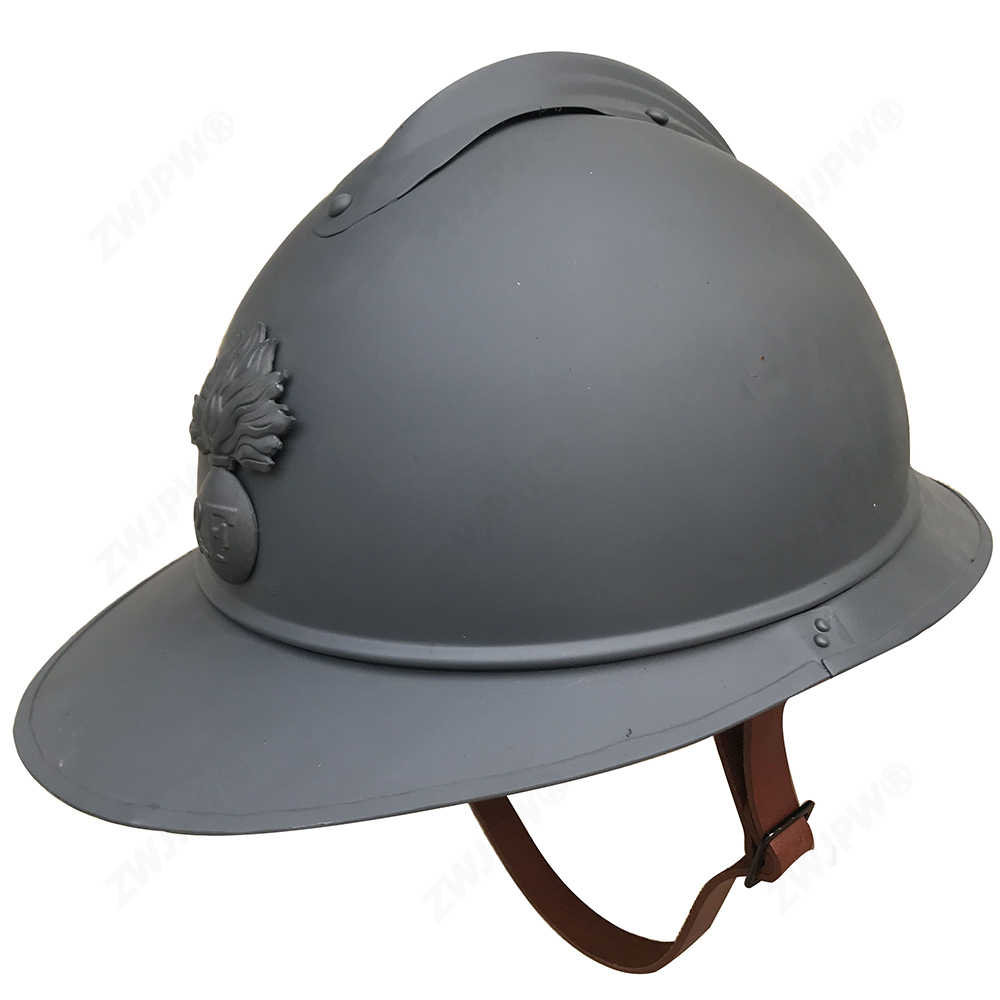 Detail Feedback Questions about WWI WW1 French Adrian Helmet