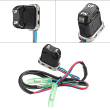 Motor Trim Tilt Switch Black Remote Controller 703-82563-01-00 3.2x1.9x3.2cm benzine 1pc(China)