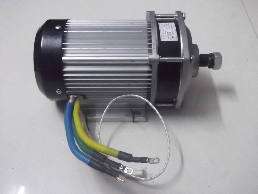 60v1200w 620rpm Dc Permanent Magnet Brushless Center Motor Pulley Electric Car Bicycle Diy Scooter Motor