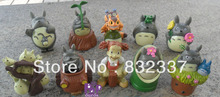 New Arrival High Quality anime PVC Totoro  Action Figures 10PCS/SET