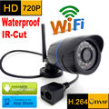 ip camera 720p wifi wateproof HD outdoor weatherproof cctv security system infrared video surveillance mini wireless home cam