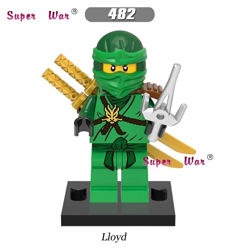 Toys & Hobbies Single Star Wars Superhero Kai Jay Cole Zane Lloyd Golden Ninja Building Blocks Model Bricks Toys For Children Brinquedos Menino