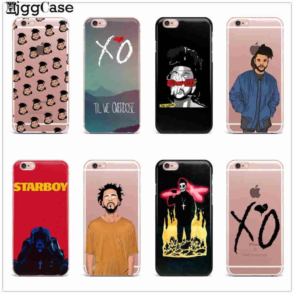 2017 New The Weeknd Starboy Pop Singer Coque Capa Phone Case Cover For iPhone X 5 5S SE 6 6S 7 7Plus 8 Plus TPU soft silicone